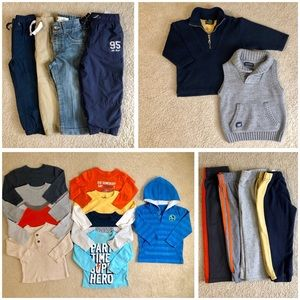 2T Toddler Boy Fall/Winter Lot